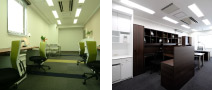 アイオス虎ノ門【東京港区】の特長 入居後すぐに業務を開始できる、レンタルオフィス家具サービス。